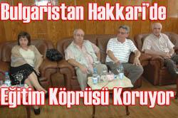 EĞİTİMCİLER'DEN ÖRNEK DAVRANIŞ