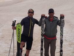 Berçelan'da kayak keyfi