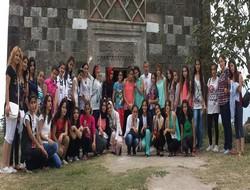 80 genç Ordu ve Trabzon'a hareket etti