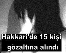 HAKKARİ`DE FUHUŞ OPERASYONU...