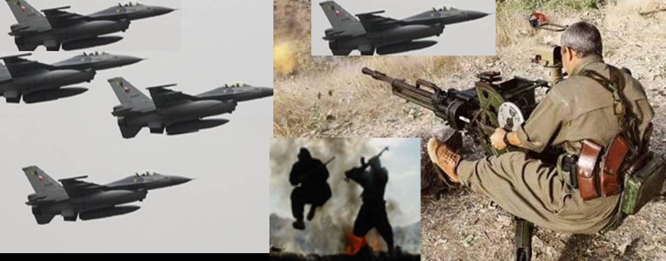 SALDIRIDA 4 PKK`Lİ YAŞAMINI YİTİRDİ