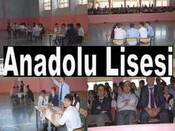ANADOLU LİSESİ BAŞARISINI ÖLÇTÜ