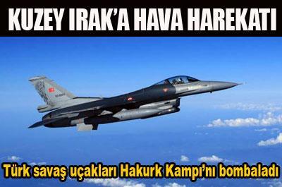 PKK`NIN HAKURK KAMPI BOMBALANDI...