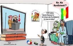 ERDOĞAN VE BARZANİ KARİKATÜRÜ