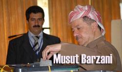 Kürdistan Bölge Başkanı oy kullandı