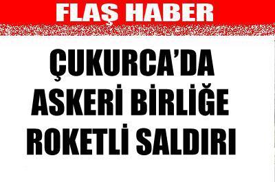 ASKERİ BİRLİĞE ROKETLİ SALDIRI....