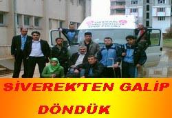 SİVEREK'TEN GALİP DÖNDÜK