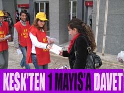 KESK'TEN 1 MAYIS A DAVET