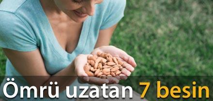 İŞTE ÖMÜR UZATAN 7 BESİN