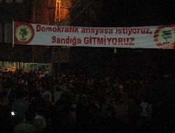 BDP'den boykot şenliği