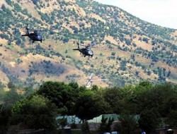 Aksu köyünde 9 PKK'li yaşamını yitirdi