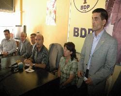 BDP Milletvekili Geylan'i sert konuştu