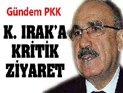 Bakan Atalay K. Irak'ta