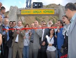Devrimci Gençlik Köprüsü açılışı yapıldı