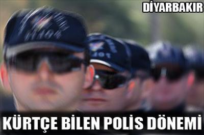 Kürtçe bilen polis dönemi