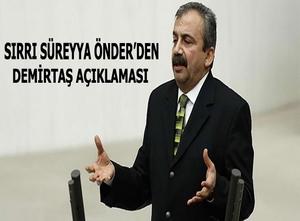 Önder'den Demirtaş açıklaması