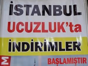 İstanbul Ucuzluk Pazarı'nda şok indirim