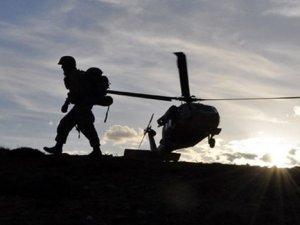 Çukurca'da İniş yapan helikoptere roketli saldırı!