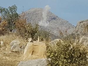 PKK Umurlu Tepe üst bölgesine saldırdı 5 yaralı!