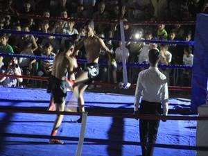 Muay thai gala gecesi Hakkari'de yapıldı!