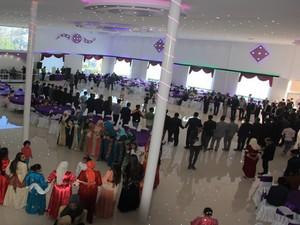 Hakkari'nin ilk düğün salonu hizmete açıldı!