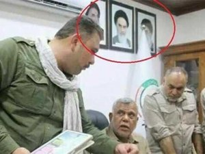 Heşdi Şabi ofislerinde Humeyni fotografları!