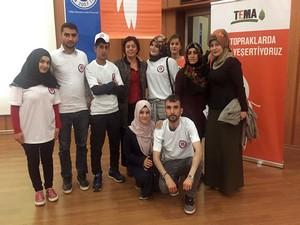 Genç TEMA topluluğu bölgesel TEMA toplantısına katıldı!
