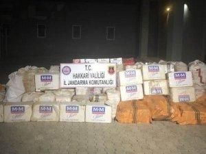 37 bin 500 paket kaçak sigara ele geçirildi