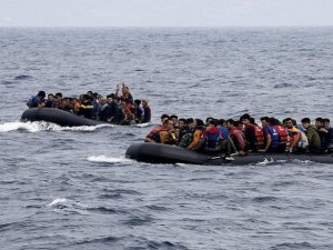 Alabora olan bottaki  90 göçmen hayatını kaybetti!