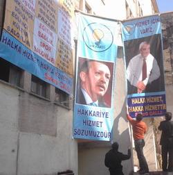 AKP YENİ SEÇİM BÜROSUN'DA