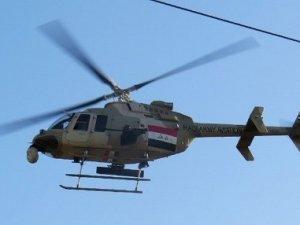 Irak helikopteri düştü!