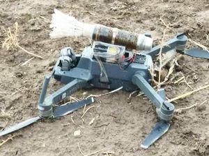 PKK'nın bomba yüklü 'drone'u düşürüldü