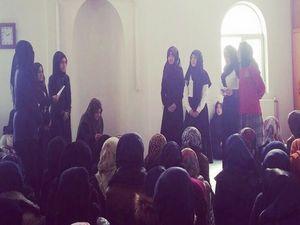 Hakkari  Kız AİHL Mevlit programı düzenledi
