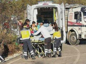Göçmen minibüsü kamyonla çarpıştı: 10 ölü, 9 yaralı