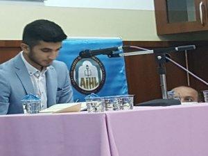 """""""Genç Bilaller"""" ezan okuma yarışması düzenlendi"""