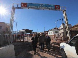 Üzümlü Sınır kapısı tekrar açıldı...