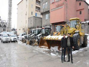 Belediye karla mücadele filosu güçlendi!