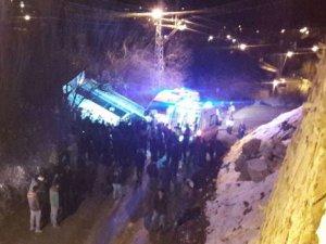 Hakkari'de trafik kazası: 1 ölü, 4 yaralı!