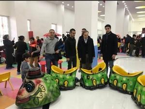 Başkan Epcim çocuk aktivitelerini inceledi