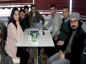 Yüksekova'da gazeteciler bir araya geldi