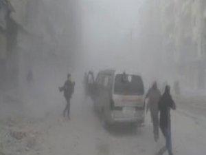 Rusya ve Suriye uçakları bomba yağdırdı: 50 ölü