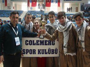 Kulüpler arası halk oyunları yarışması il birinciliği sonuçlandı