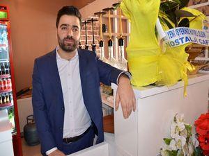 Cafe Barcelona hizmete açıldı