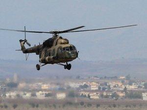 Helikopter düştü kurtulan olmadı