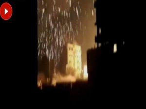 Rejim güçleri Fosfor bambası attı