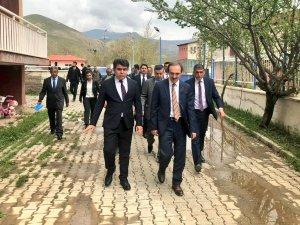 Başkan Epcim Kredi Yurtlar Kurumunu ziyaret etti