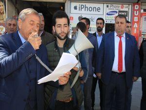 Hakkari CHP ohale hayır eylemi düzenledi