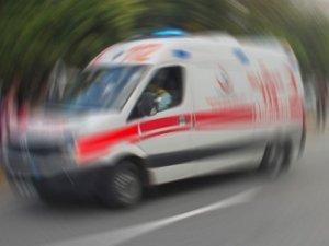 İşçileri taşıyan otobüs devrildi: 31 yaralı