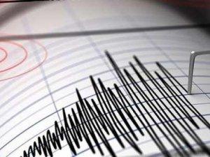 3.8 büyüklüğünde deprem meydana geldi