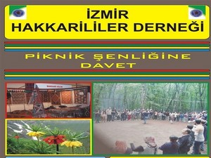 İzmir Hakkari derneğinden şenliğe davet